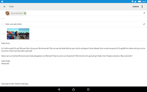 Telekom Mail screenshot 10