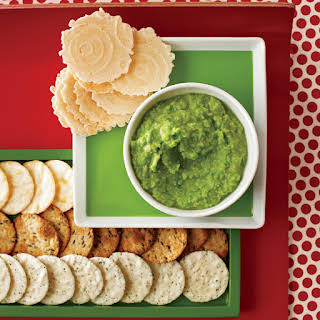 Ginger-Miso Sweet Pea Spread.
