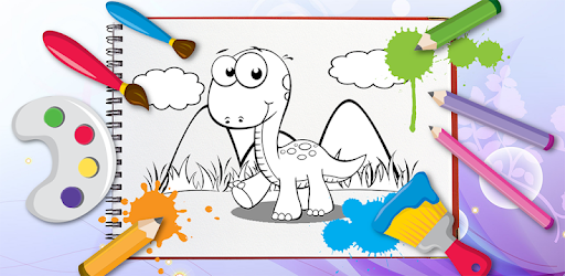 Kids Coloring Book Dinosaurs Apps Bei Google Play
