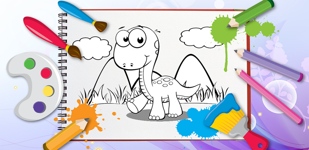 Kids Coloring Book Dinosaurs 201 Apk Download