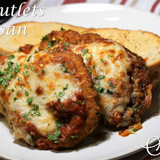 Pork Cutlets Parmesan.