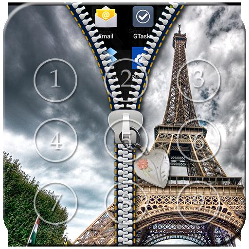 Paris Zipper Lock