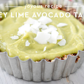 Key Lime Avocado Tart