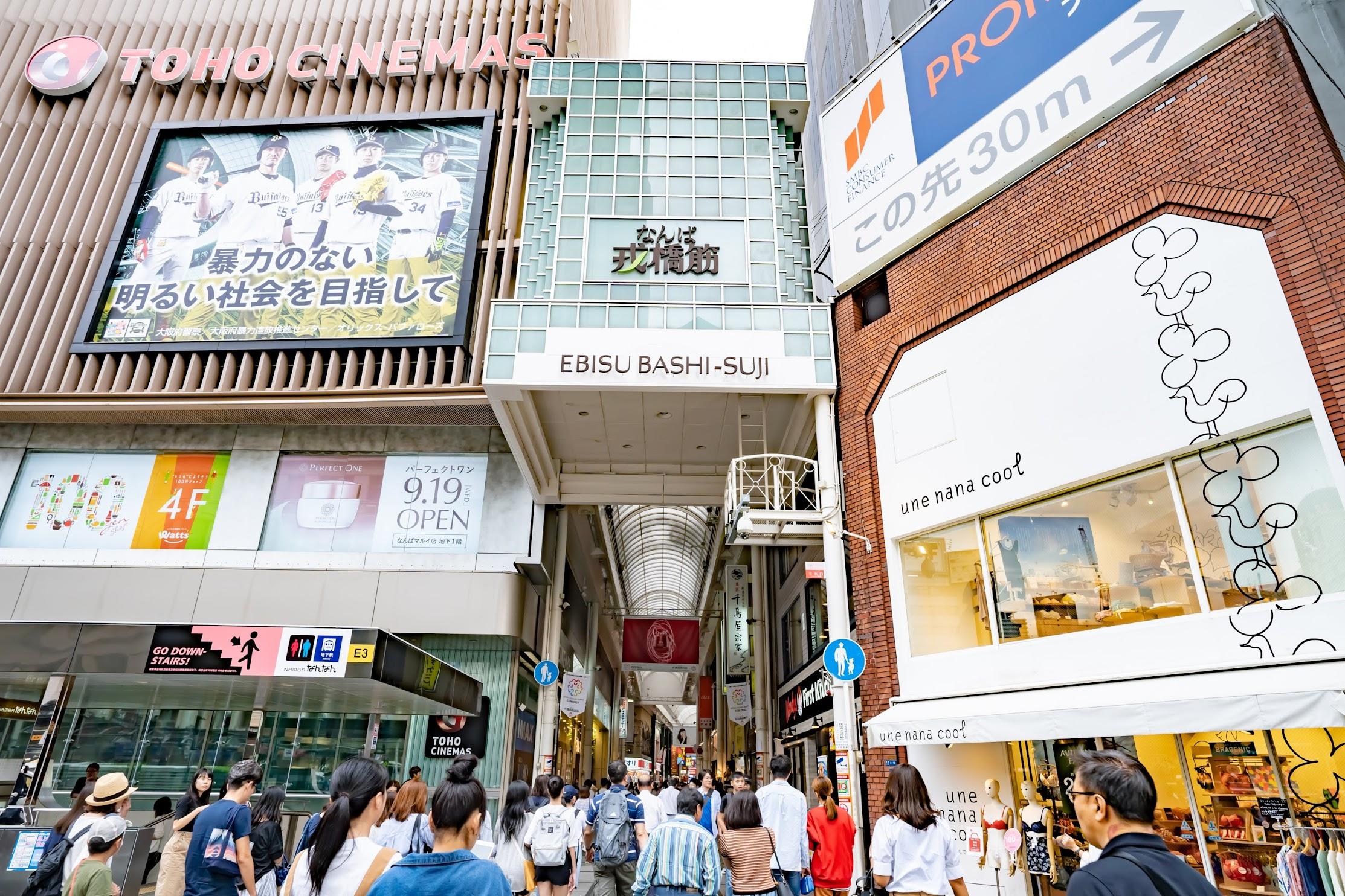 Namba Ebisubashi-Suji Shopping Street