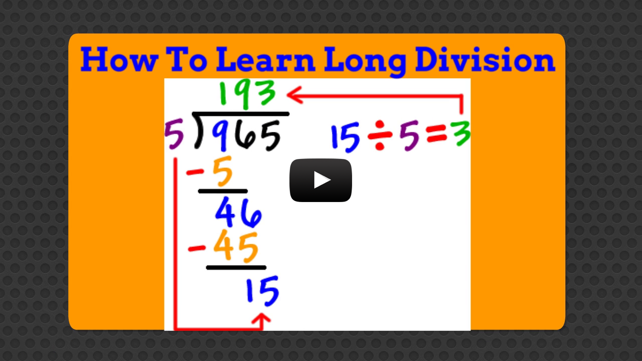 Worksheet How To Learn Long Division how to learn long division android apps on google play screenshot