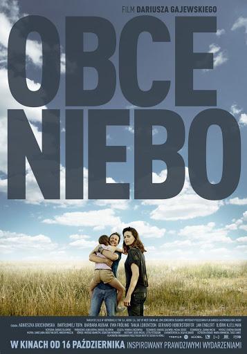 Polski plakat filmu 'Obce Niebo'