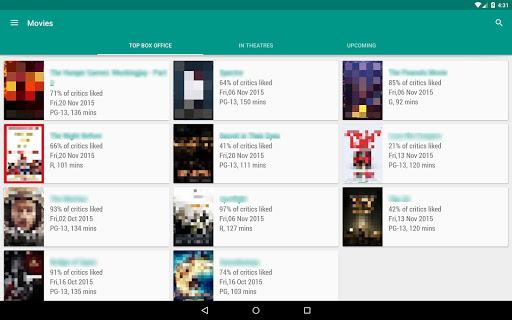 Movie & TV Listings – Recommendations & Reviews v1.9 screenshots 8