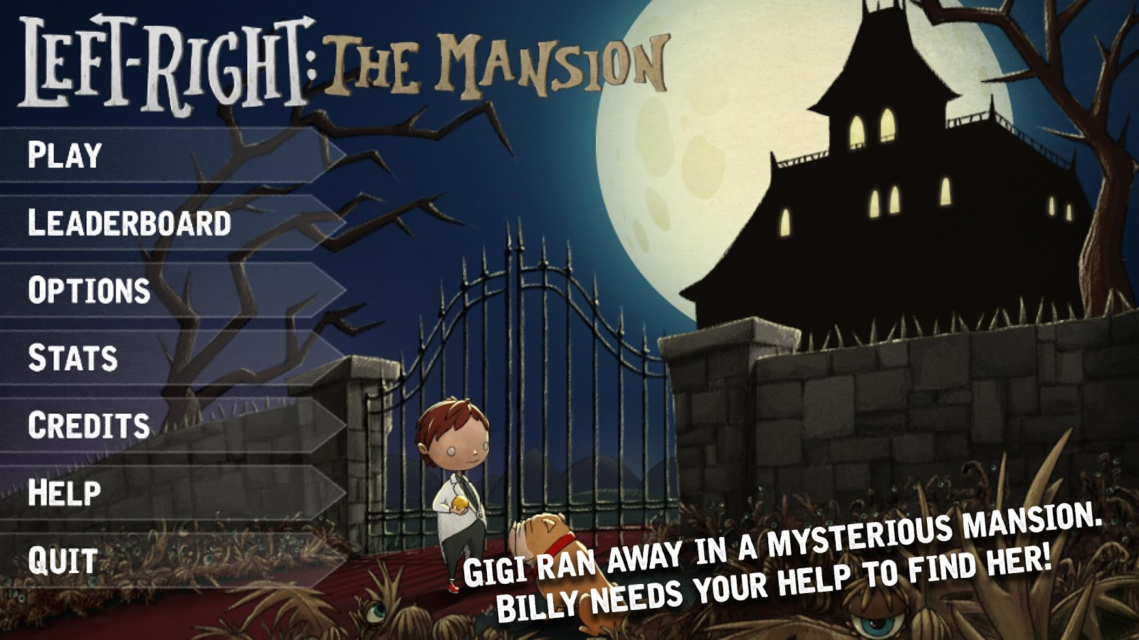 Left-Right : The Mansion- screenshot