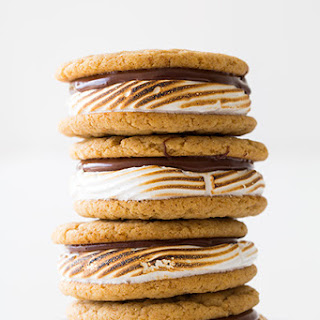 S'mores Cookie Sandwiches