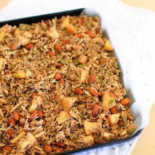 Cinnamon & Apple Granola (Recipe)