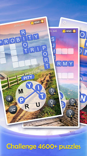 Word Crossy - A crossword game apkmr screenshots 5