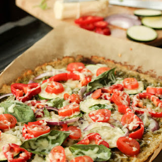Healthy Cauliflower Pizza Crust Recipe