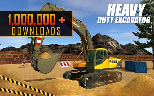 Heavy Excavator Crane: Construction City Truck 3D painmod.com screenshots 11