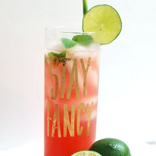 Fresh Watermelon Mojitos Recipe