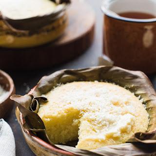Filipino Coconut-Rice Cake.