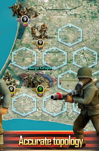 Frontline: Western Front - WW2 Strategy War Game screenshots 5