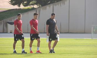 Entrenamiento del Almería 18 de octubre