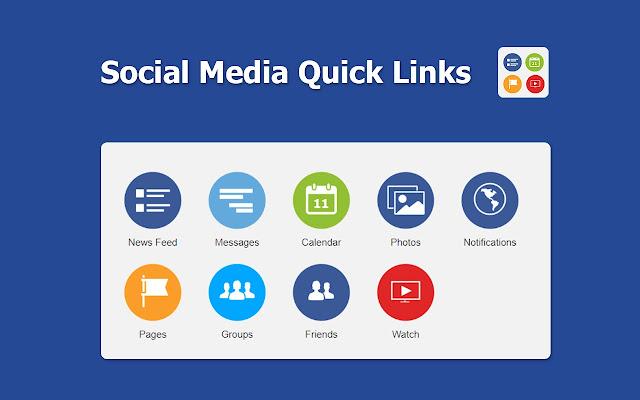 Social Media Quick Links