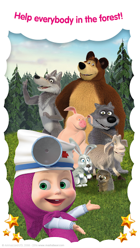 Masha and the Bear: Free Animal Games for Kids  screenshots 6