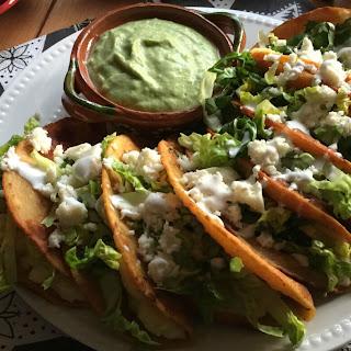 Queso Fresco Potato Tacos Dorados Recipe