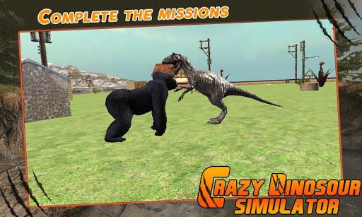 Crazy Dinosour Simulator