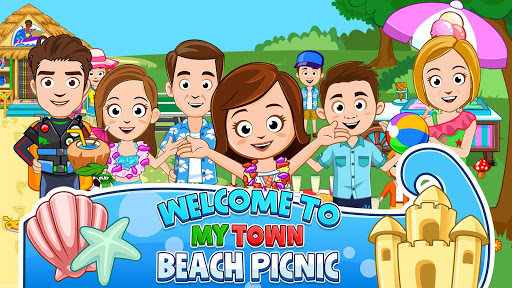 My Town : Beach Picnic  app download 1