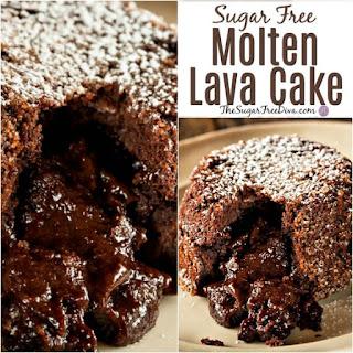 Molten Lava Cake With Devil S Food Cake