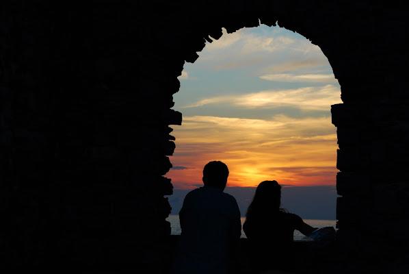 Osservando un tramonto poco convinto di michele_sacco