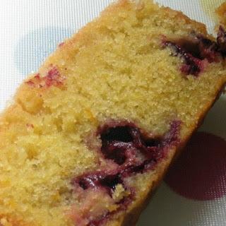 Autumn Damson Crunch Cake.