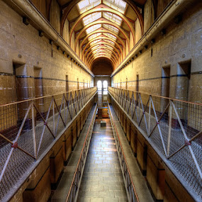 Old Melbourne Gaol by Jason Asher - Buildings & Architecture Other Interior