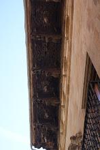 Photo: Détail avant toit.