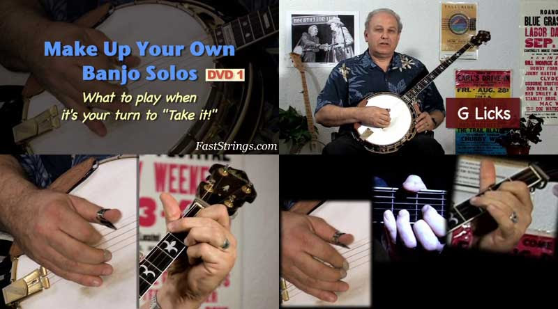 Pete Wernick - Make Up Your Own Banjo Solos Volume 1