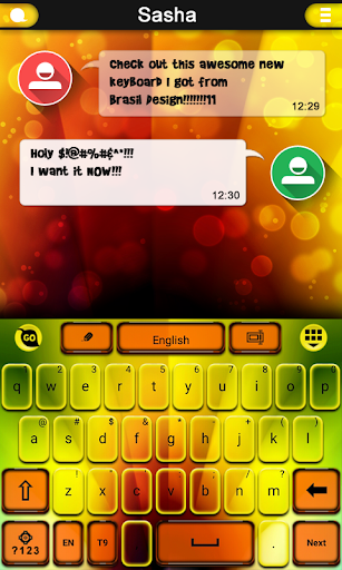 Blur Photo keyboard