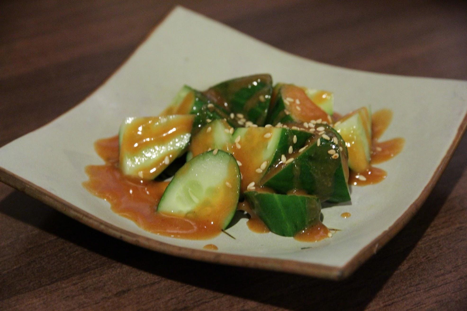 辣味噌黃瓜