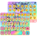 Pop Art Emoji Keyboard Theme icon