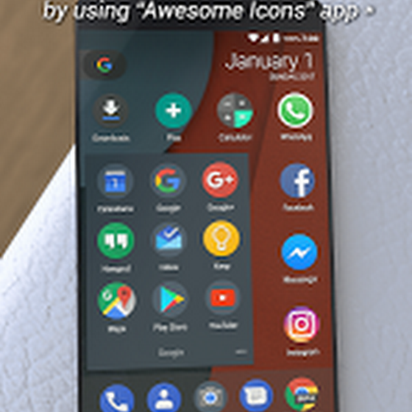 Dark Pixel Icon Pack,Nova/Apex v53