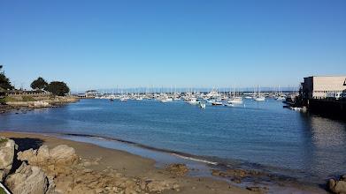 Photo: The marina at Monterey's Old Fisherman's Wharf