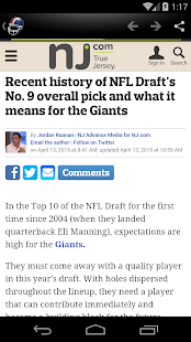 New York Football News- screenshot thumbnail