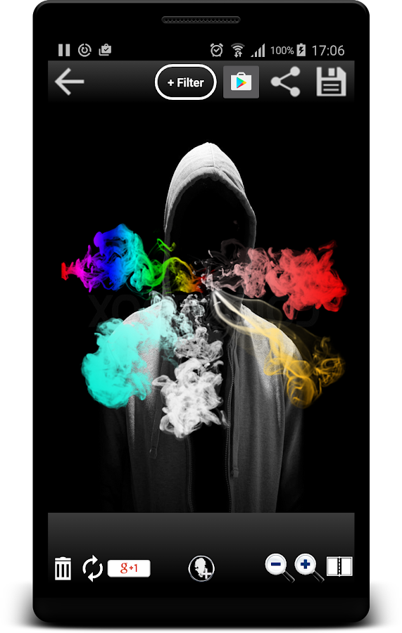 Smoke Effect Photo Editor- screenshot