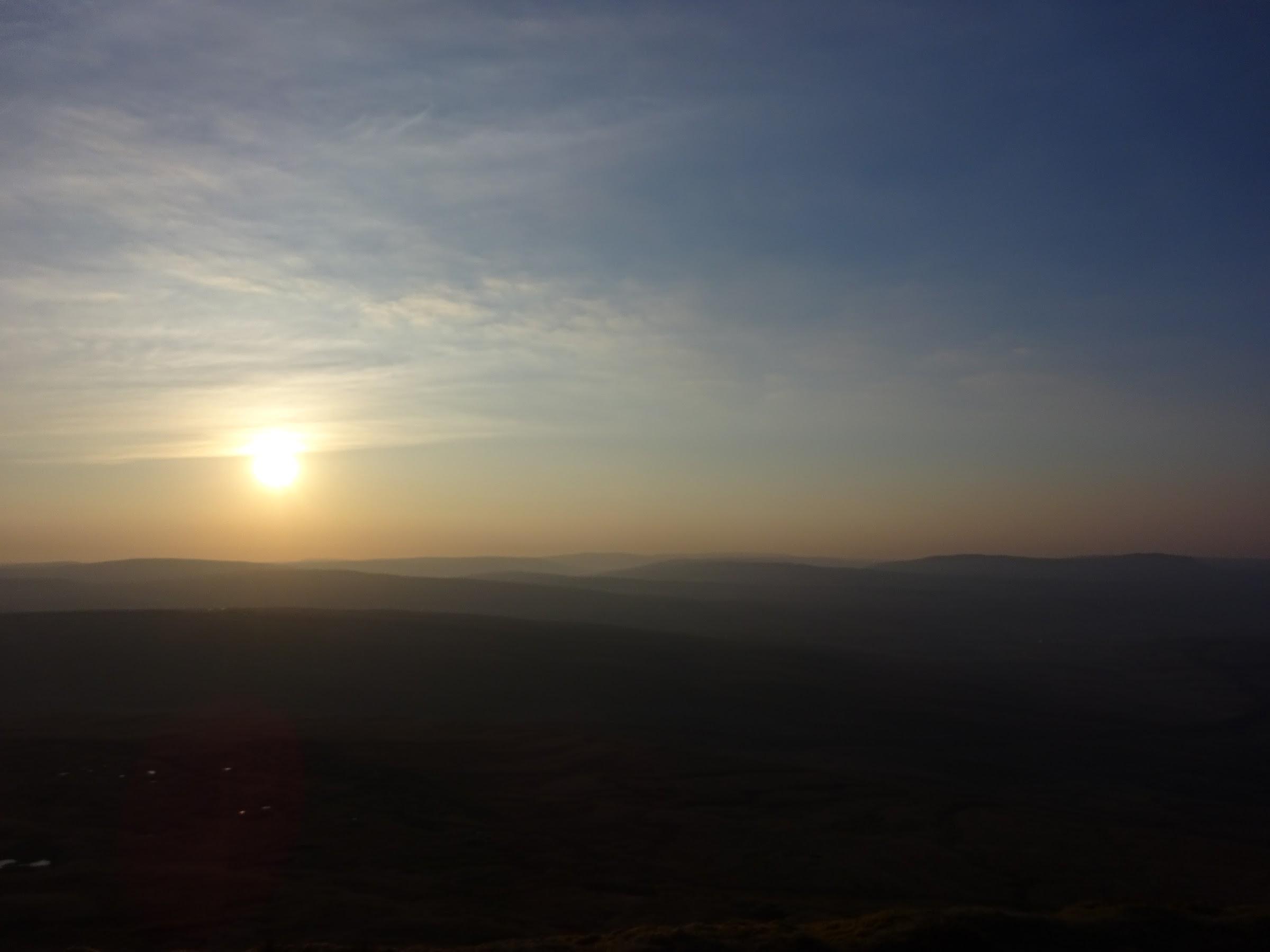 Sunrise from Whernside