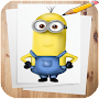How to Draw Minions Characters APK icon
