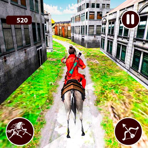 Street Horse Archer Run - Dungeon Archer Escape Android APK Download Free By JoyDew