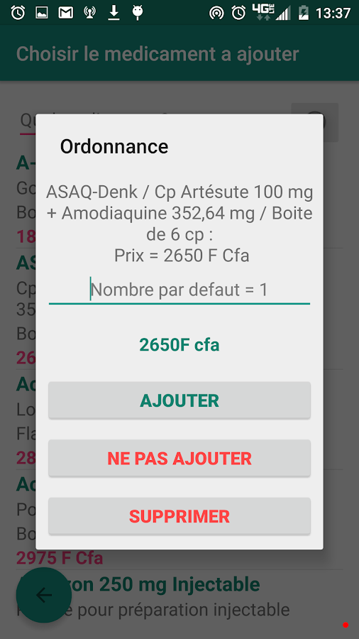 Pharmacies Cameroun- screenshot