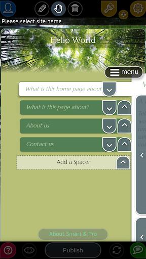 Website Builder for Android screenshot 2