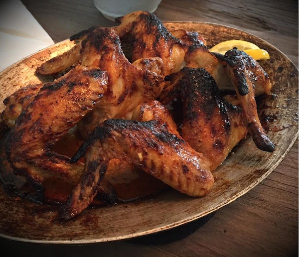 Charred Harissa Chicken Wings Recipe