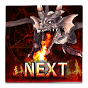 Fire Dragon Next 3D LWP icon