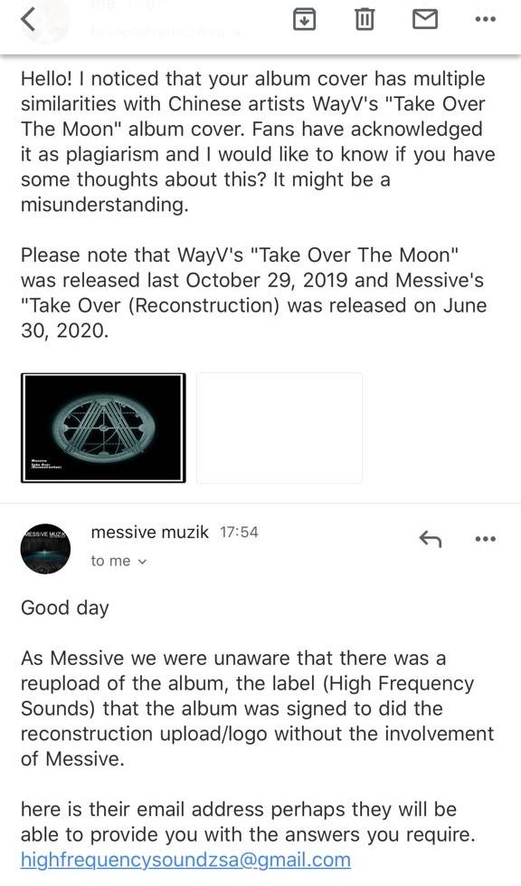 messive email wayv