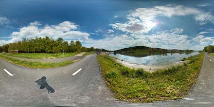 Photo: cyklostezka podél řeky Moravy u Otrokovic