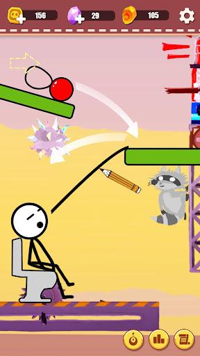 PC u7528 Tricky Ball : Draw line tricky game 2