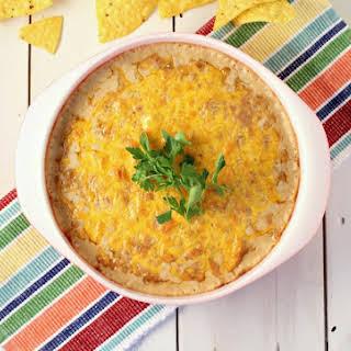 Hot Cheesy Bean Dip.